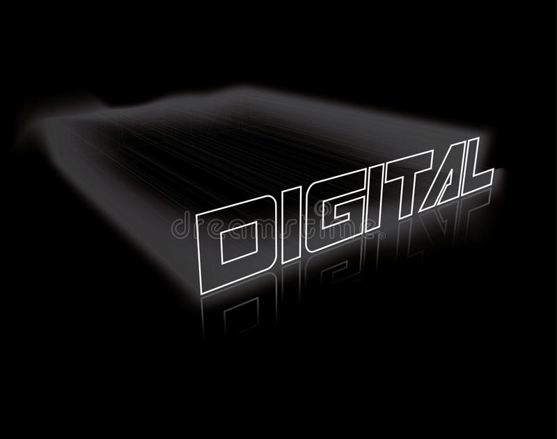 цифрово иллюстрация вектора