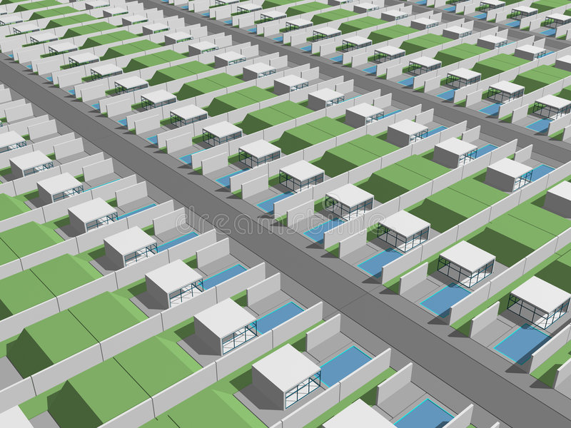 цифровые родовые серии снабжения жилищем бесплатная иллюстрация