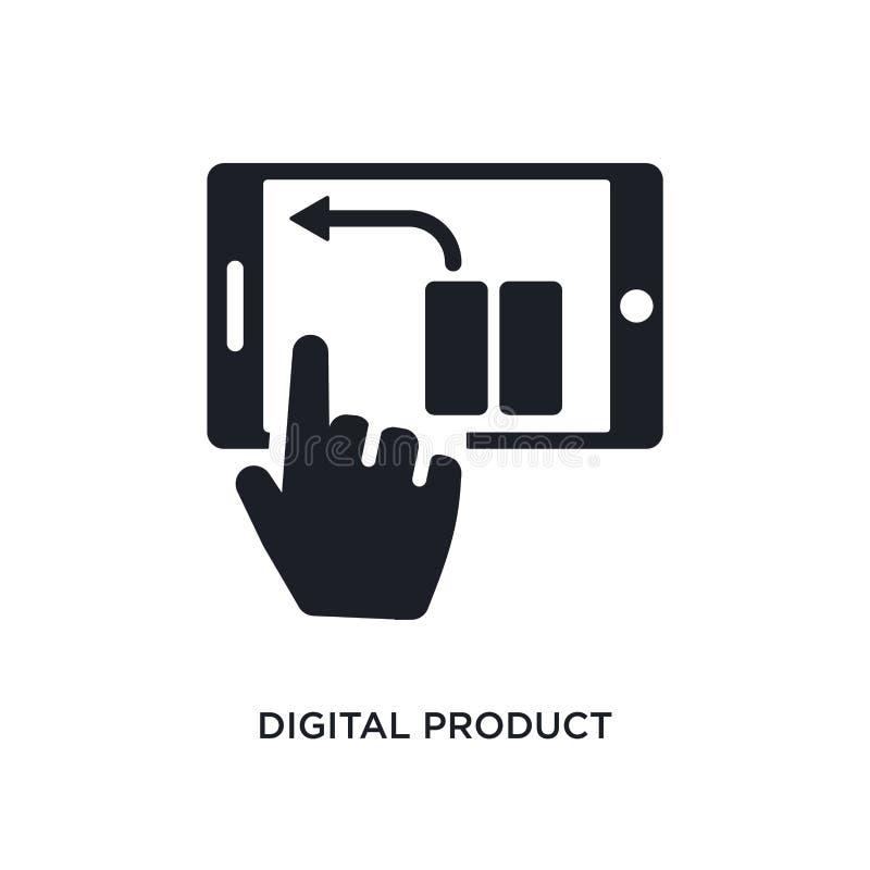 цифровым значок изолированный продуктом простая иллюстрация элемента от значков концепции general-1 символ знака логотипа цифрово иллюстрация вектора