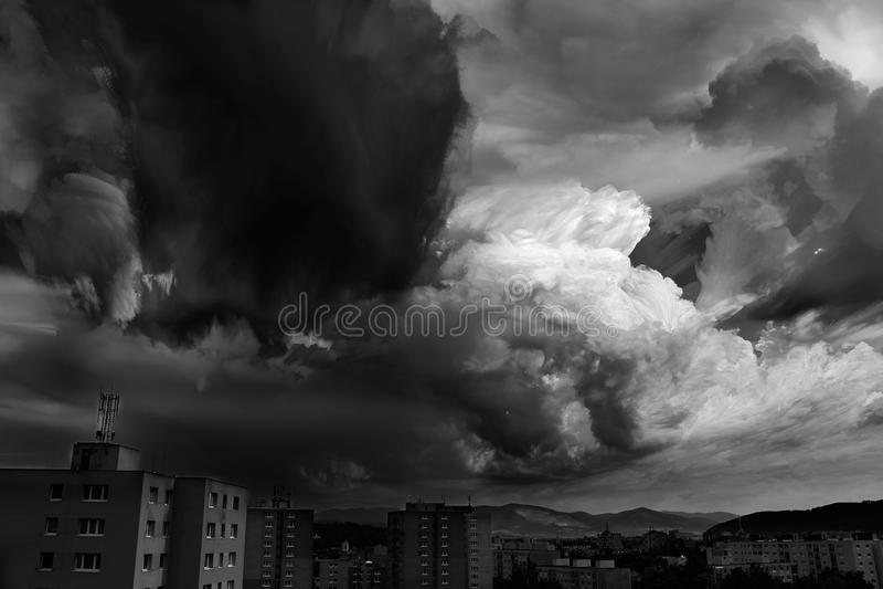 Цунами неба стоковые изображения rf