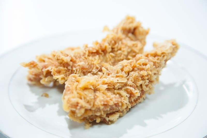 Цыпленок глубоко зажарил. стоковые фотографии rf