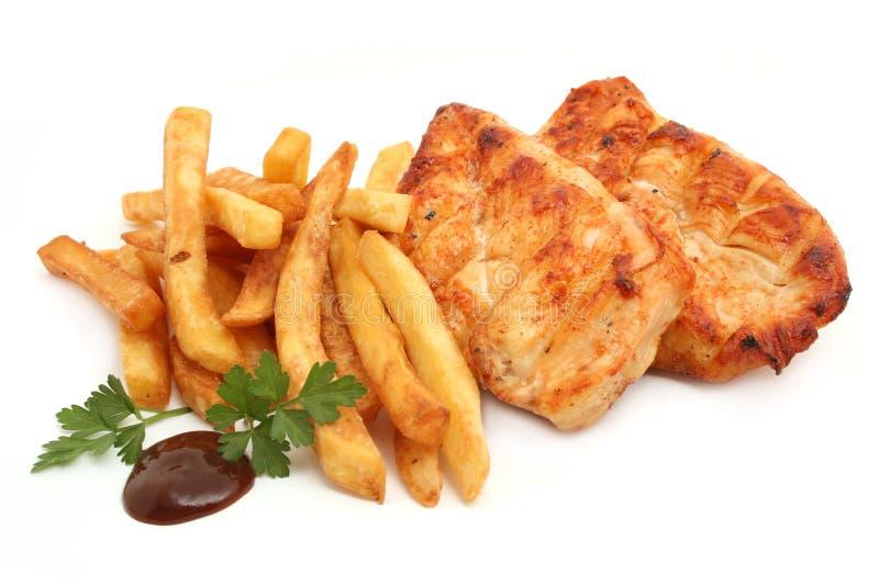 цыпленок груди стоковые фото