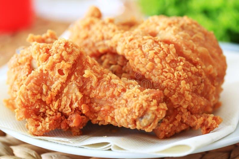 цыпленок зажарил стоковые изображения