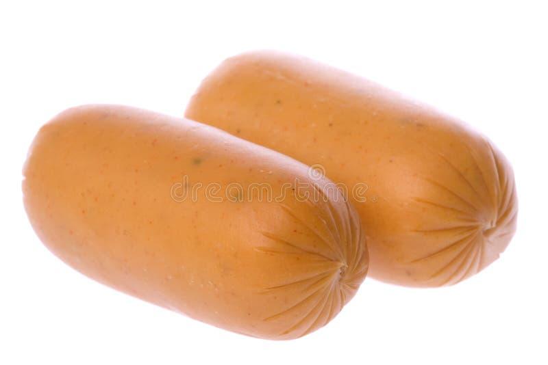 Download цыпленок изолировал сосиски Стоковое Фото - изображение насчитывающей сосиска, тучно: 6868834