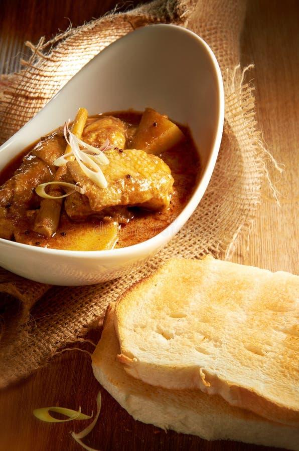 Цыпленок карри стоковое изображение