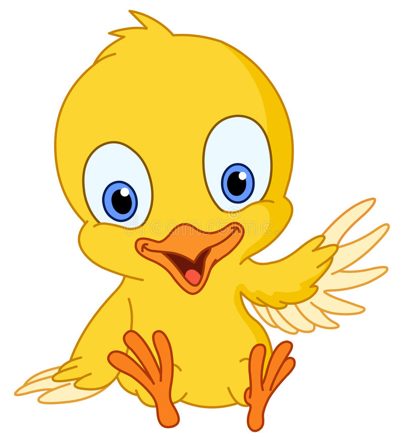 цыпленок милый иллюстрация штока