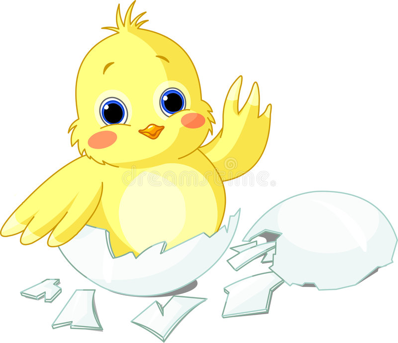 цыпленок немногая бесплатная иллюстрация