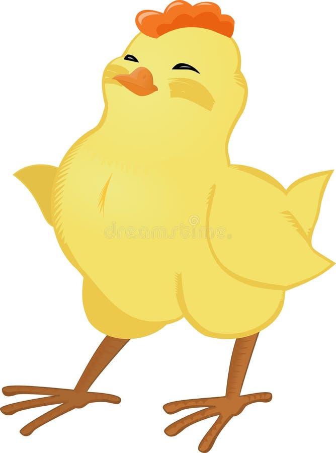цыпленок счастливый бесплатная иллюстрация