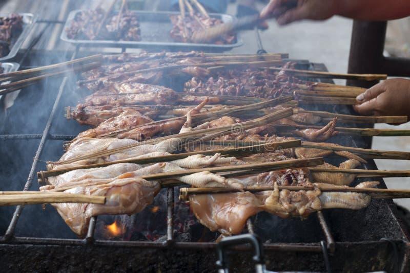 Цыпленок гриля стоковые изображения rf