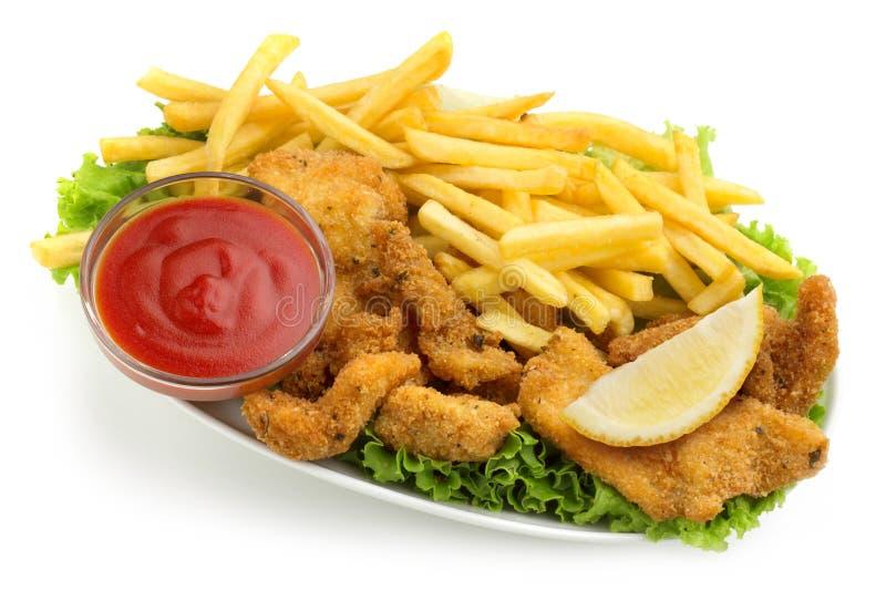 Цыпленок комбинированный стоковое фото
