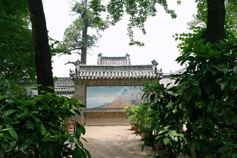 Цюйфу Kong Lin стоковое фото