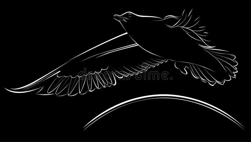 Чайки логотипа бесплатная иллюстрация