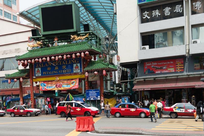 Чайна-таун в Куалае-Лумпур стоковые изображения rf