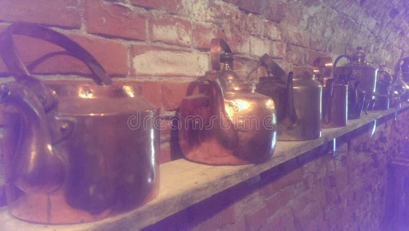 чайники стоковое изображение rf