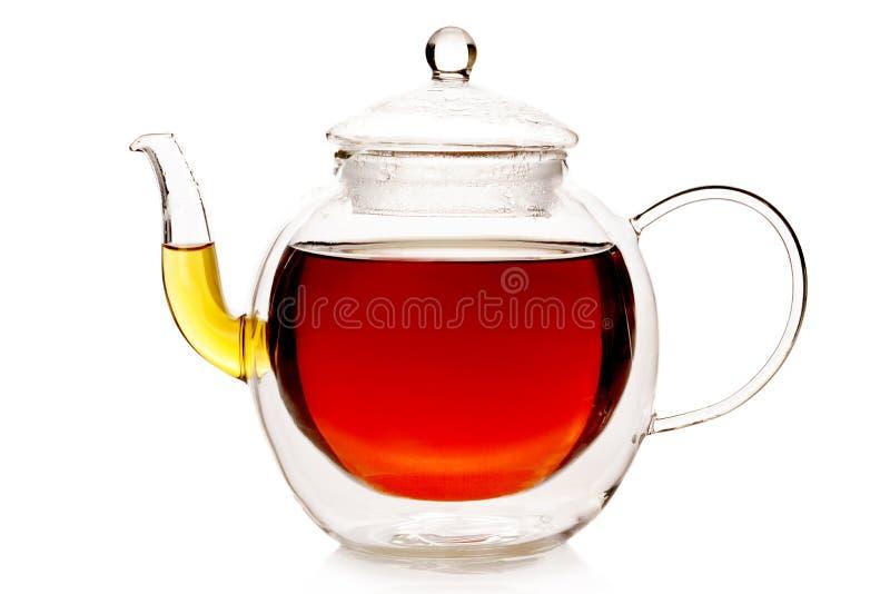 Чайник двойной стены термо- стоковое фото