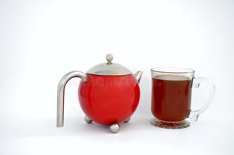 Чайник и кружка стоковое изображение