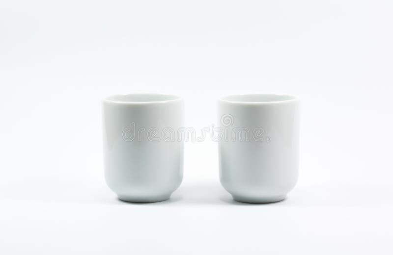 Чайник и стекло изоляции стоковые изображения rf