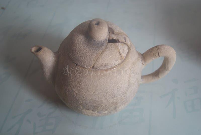 Чайник Китая старый стоковое изображение rf