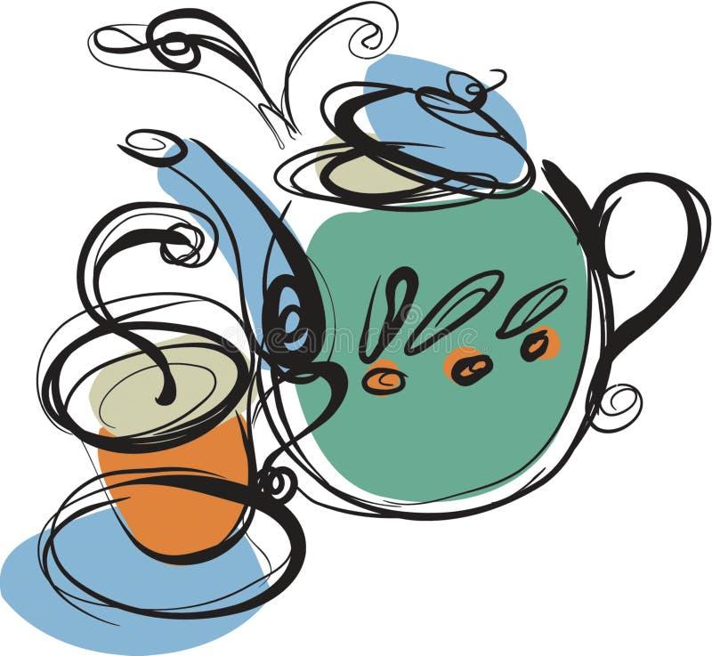Чайник бесплатная иллюстрация