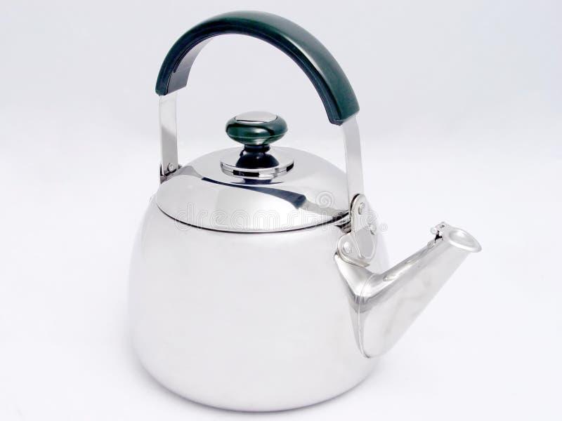 Download чайник стоковое изображение. изображение насчитывающей сталь - 476737