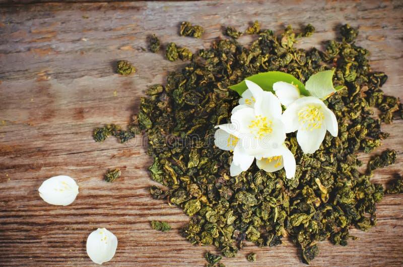 Чай жасмина стоковая фотография rf