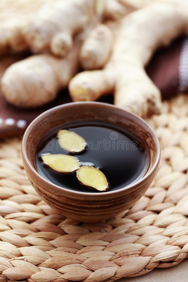 чай имбиря стоковое фото