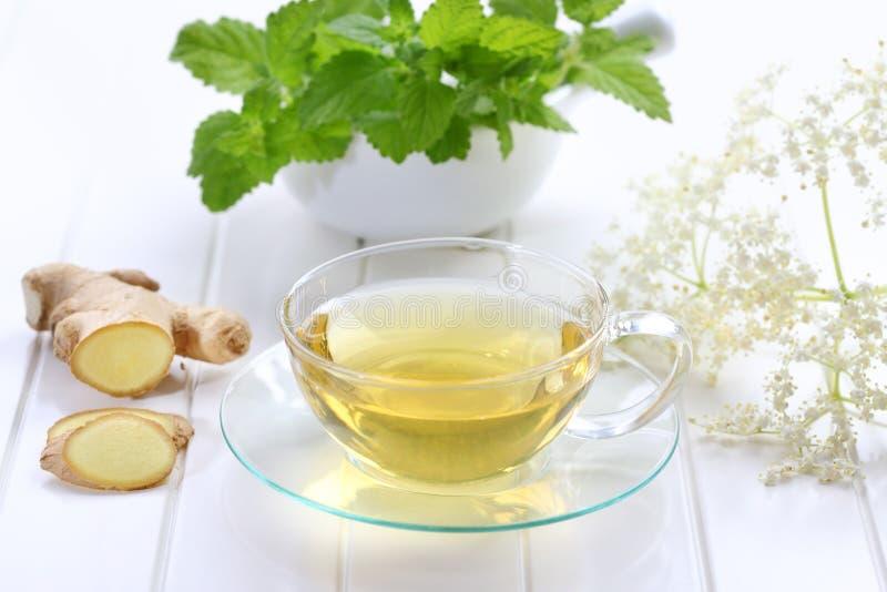 чай имбиря стоковое изображение