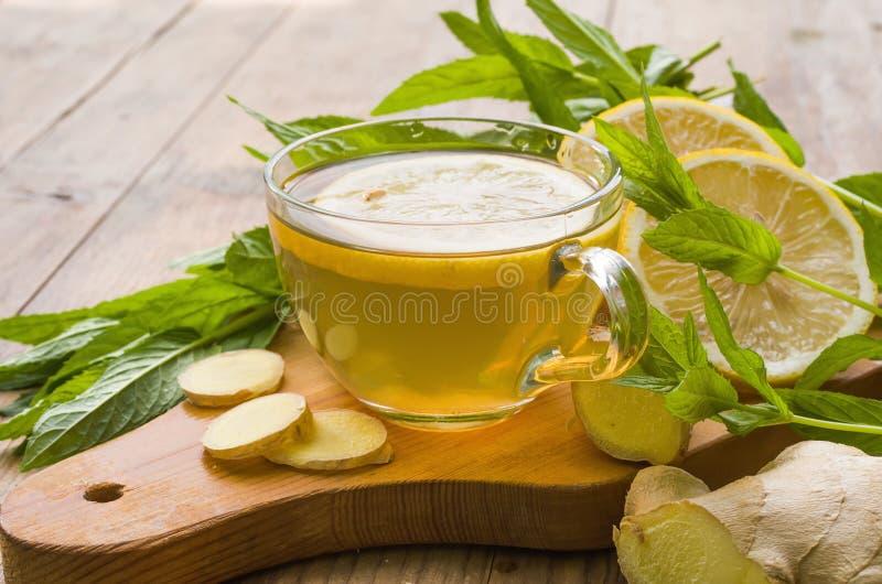 Чай имбиря стоковые изображения rf