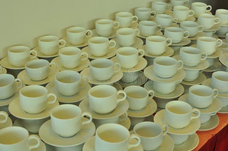 чай кофейных чашек стоковые изображения