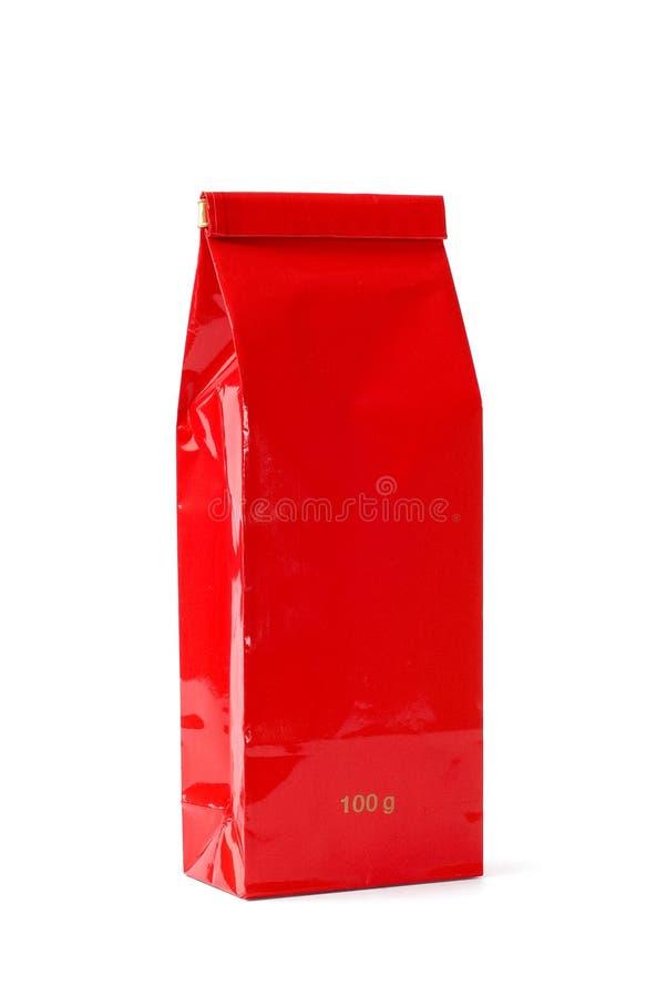 чай красного цвета пакета стоковые фото