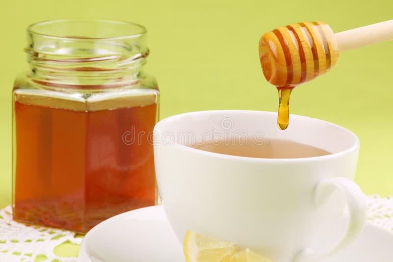 чай лимона меда стоковые фото