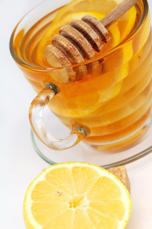 чай меда стоковое изображение