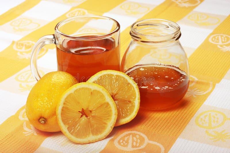 чай меда стоковые изображения rf