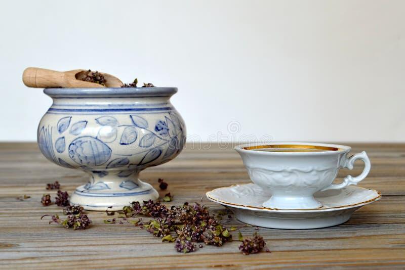 Чай Мелиссы стоковая фотография rf