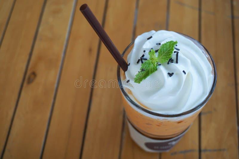 чай молока стоковая фотография rf