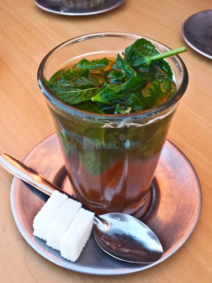 Чай мяты, Marocco стоковая фотография