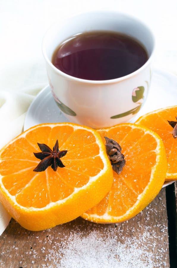 Чай на таблице стоковые фото