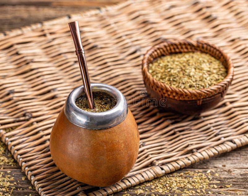 Чай ответной части Yerba стоковое фото rf