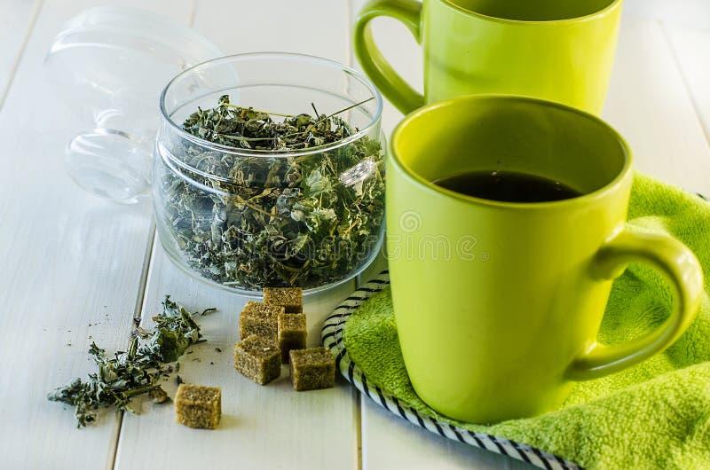 Чай от трав стоковое изображение rf