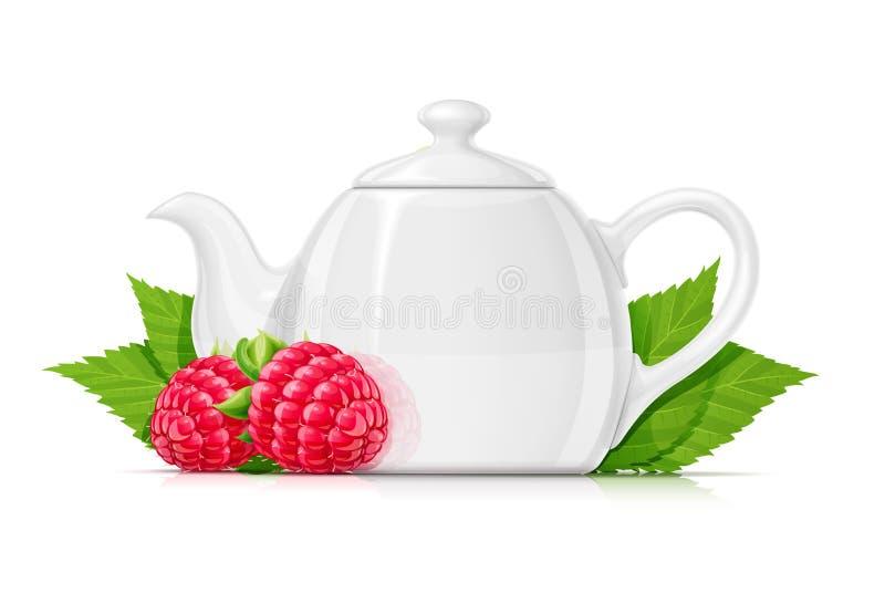 Чай поленики Свежий органический травяной напиток r бесплатная иллюстрация