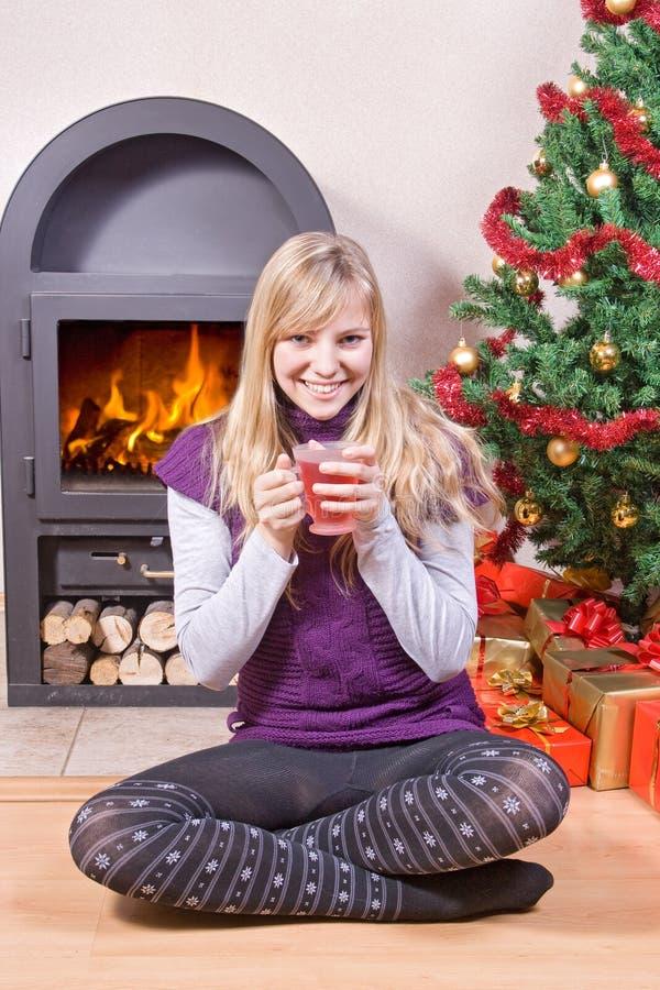 чай рождества стоковое фото rf