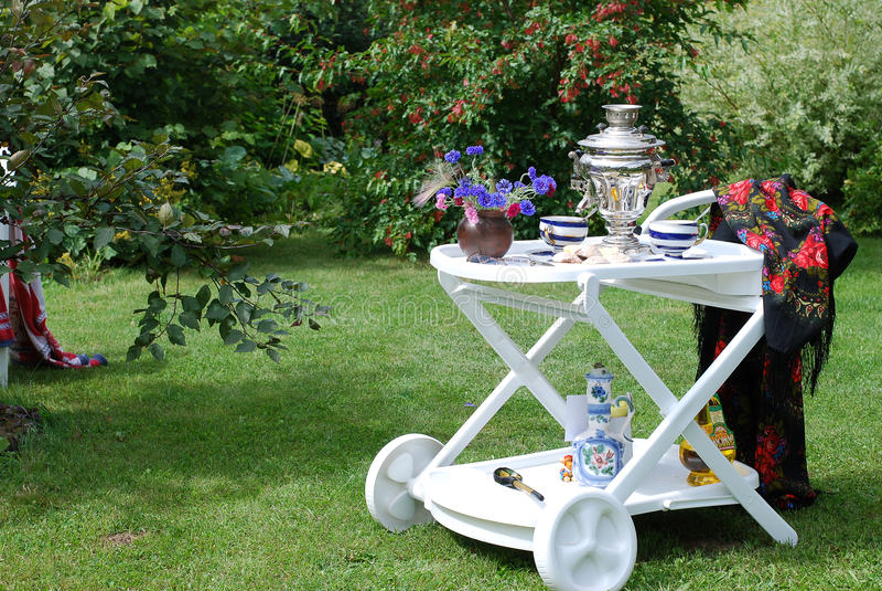 чай совместно стоковая фотография