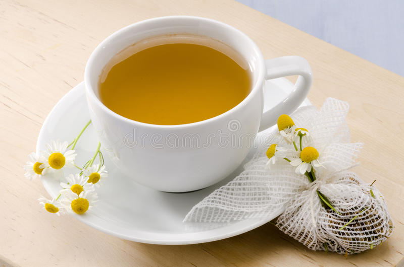 Чай стоцвета травяной стоковое фото rf