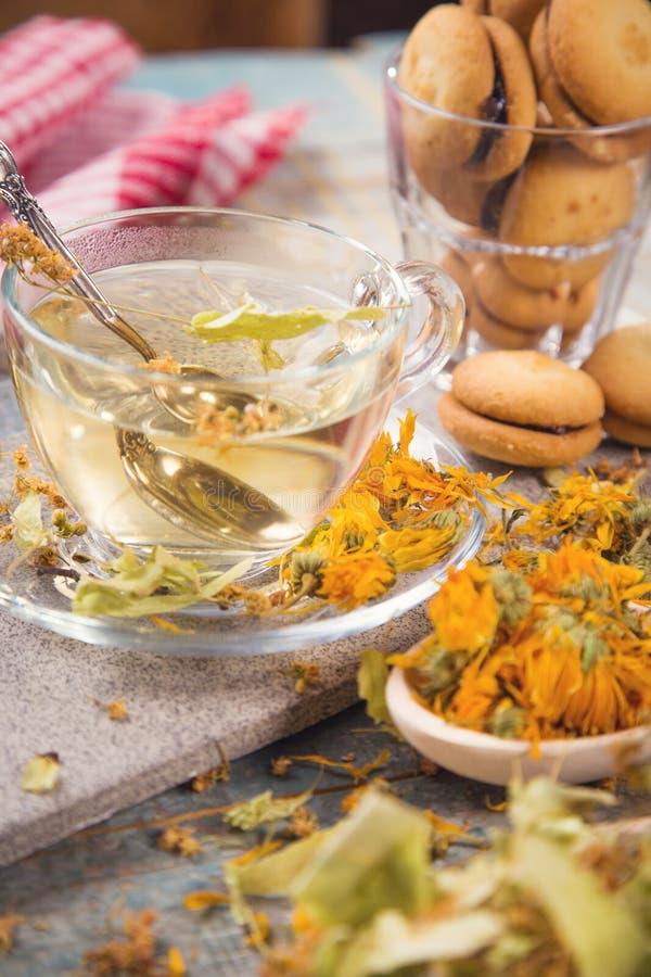Чай с липой стоковые фото