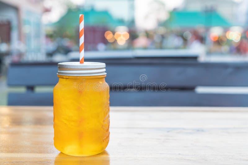 Чай хризантемы льда стоковая фотография