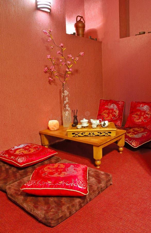 чай церемонии стоковое фото rf