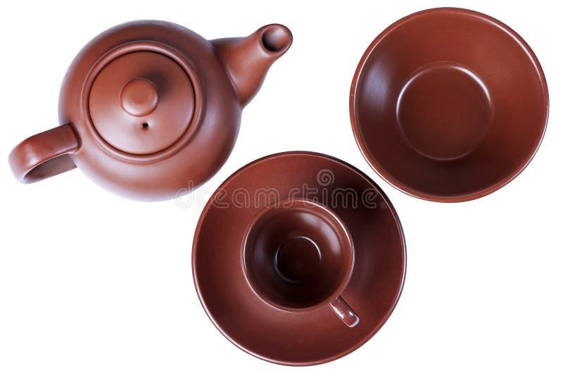 Чай, чашка, поддонник стоковые фотографии rf