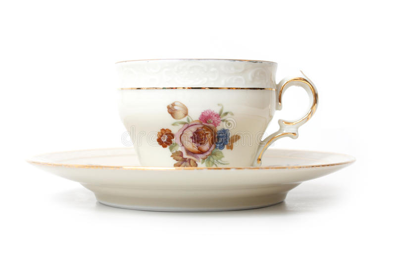 чай чашки старый стоковое фото