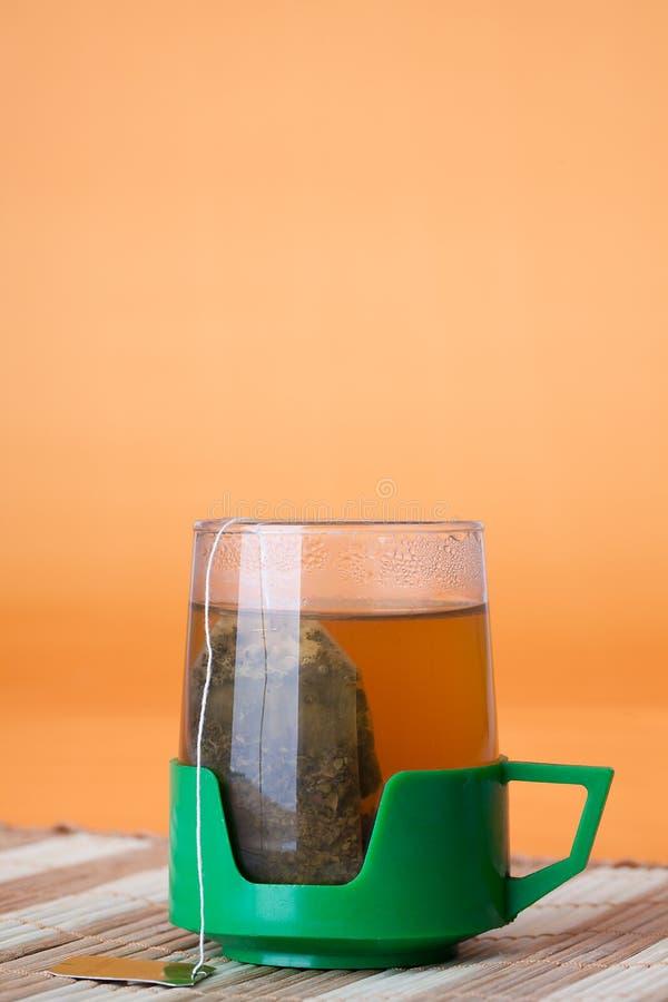 чай чашки стекловидный стоковое изображение rf