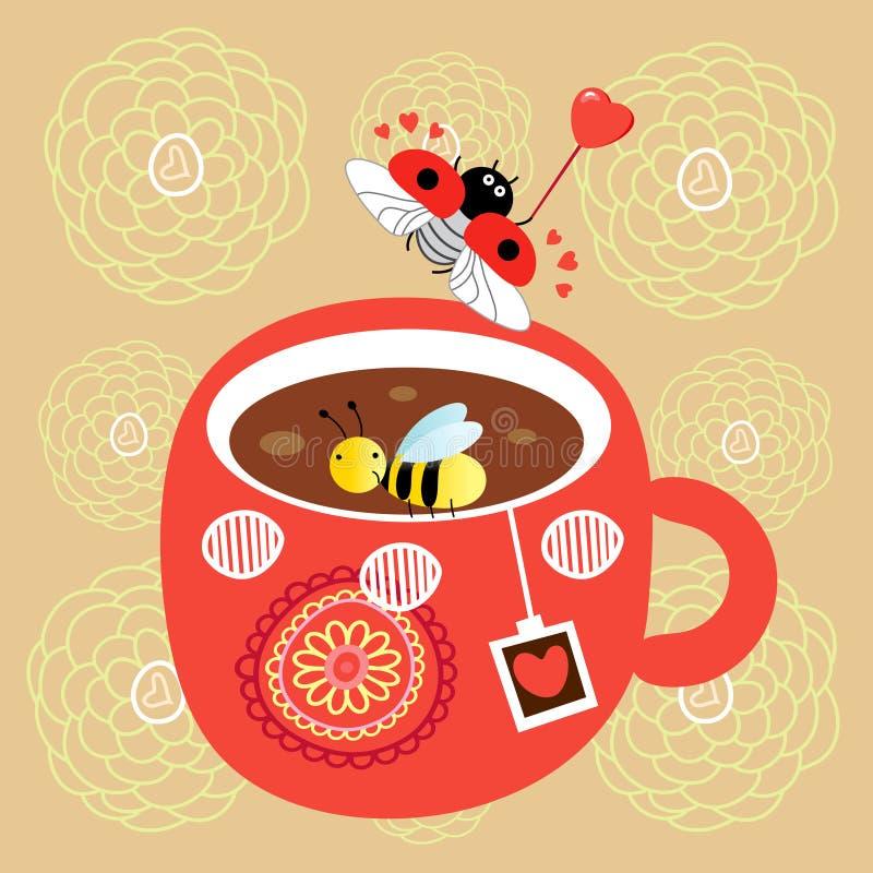 чай чашки бесплатная иллюстрация